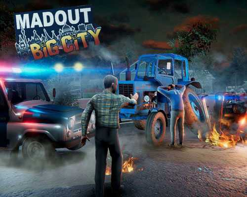 MadOut BIG City PC Game Free Download