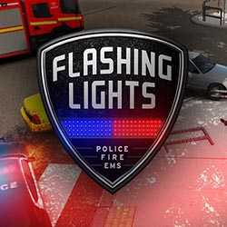 Flashing Lights Police Fire EMS