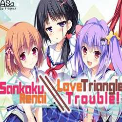 Sankaku Renai Love Triangle Trouble PC Game Free Download