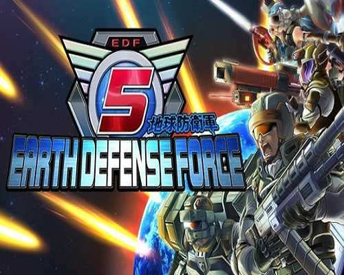 EARTH DEFENSE FORCE 5 PC Game Free Download