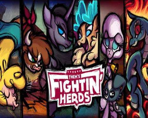 Thems Fightin Herds PC Game Free Download