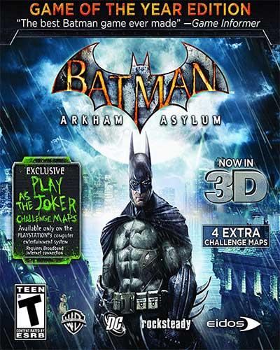 Batman Arkham Asylum Game Free Download