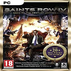 Saints Row IV Game of the Century National Treasure Edition