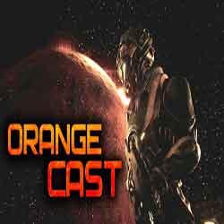 Orange Cast Sci Fi Space Action