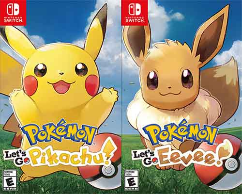 Pokemon Lets Go PikachuEevee Game Free Download