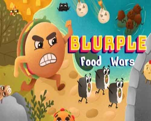 Blurple Food Wars PC Game Free Download