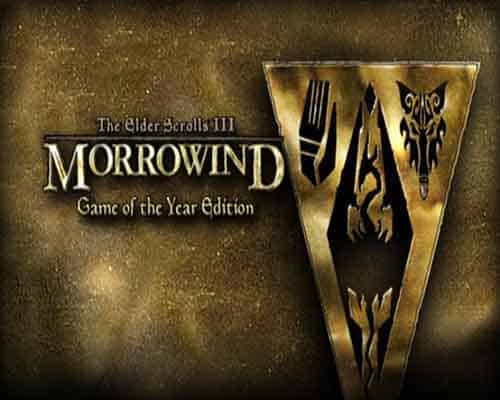The Elder Scrolls III Morrowind Game of the Year Edition PC Game Free Download